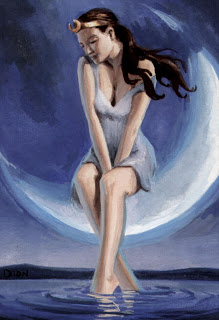 selene - greek moon goddess